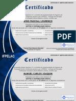 Certificate GCB