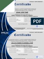 Certificate HSTA