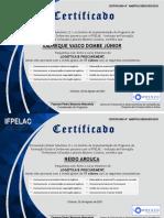 Certificate LP