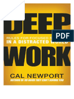 Deep Work Retrouver La Concentration Dans Un Monde de Distractions by Cal Newport (Z-lib.org)