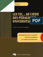 Les TIC... Au Coeur Des Pédagogies Universitaires. Diversité Des Enjeux Pédagogiques Et Administratifs. by Larose, François Karsenti, Thierry (Z-lib.org)