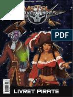 MA - Livret Pirate Métal Adventure JDR