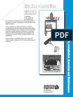 Autoclave - Tools, Installation, Operation and Maintenance