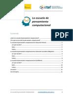 Escuela de Pensamiento Computacional - Dosier informativo