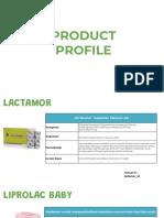 PRODUCT PROFILE