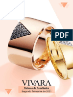 Press Release Do Resultado Da Vivara Do 2T21