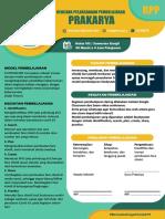 RPP PRAKARYA 1 LEMBAR (STUDYSASTER)
