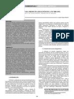 Revista o Segmento Da Medicina Diagnóstica No Brasil
