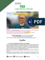 Quintas Mortíferas - FGV QuestÕES