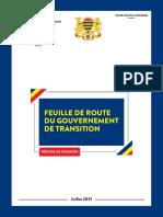 TCHAD - FEUILLE DE ROUTE DU GOUVERNEMENT DE TRANSITION, JUILLET 2021
