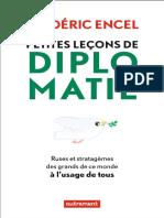 Petites Leçons de Diplomatie _ Ruses Et Stratagèmes Des Grands de Ce Monde à l'Usage de Tous ( PDFDrive )