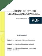 Ped6651 - Cad Orientação Educacional 1