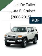 Toyota Fj Cruiser (2006-2017) Manual de Taller