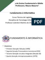 Aulas 01-Fundamento à Informática Hardware