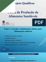 1.2 Conceitos e Fundamentos da produção de alimentos saudáveis