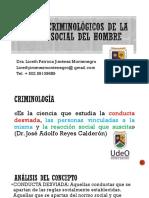 AVANCES CRIMINOLÓGICOS DE LA REACCIÓN SOCIAL LICETH JIMENEZ