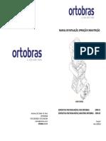 MANUAL DE INSTALAÇÃO, OPERAÇÃO E MANUTENÇÃO DPM FX GT ORTOBRAS 20030107 REV 04 LIVRETO