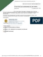 SAIP ATENDIDO 17 AGO 2021, 14:45 Hrs. sobre casos ingresados a 1, 2, 3 despacho de la 11 Fiscalía Penal Lima Norte. 44 págs