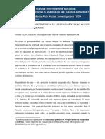 Sonia Alda - Nuevos movimientos sociales