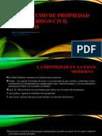 El Derecho de Propiedad en El Código Civil Peruano.