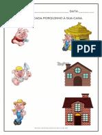 Entendendo Os três porquinhos - Educação Infantil