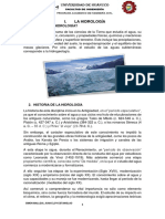 La Hidrología