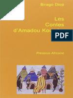 Les contes d Amadou Koumba - Birago Diop