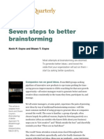 Better Brainstorming - McKinsey