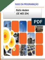 Passo a Passo Da Programação Do Rádio GE SD48