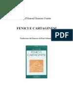 M'Hamed H. Fantar - Fenici e Cartaginesi -Editoriale Jaca Book (1997)