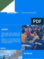 Apresentação - AIESEC