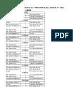 Fixture Ascenso Liga Riotercerese