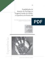Possibilidades de atuação do psicólogo no programa saúde da família  a experiência de Bonito-MS
