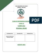 PLAN DE CONTIGENCIA REGIONAL FINAL agosto 2021