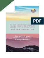 Le Coran Est Ma Solution ( Livre) 2