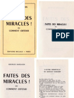 Georges Barbarin - Faites Des Miracles