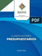 Clasificadores_Presupuestarios_Gestion_2022