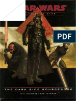 (2) Star Wars D20 RPG - The Dark Side Sourcebook