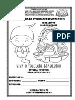 11º CADERNO DE ATIVIDADES REMOTAS
