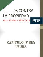 DELITO CONTRA LA PROPIEDAD