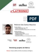 Apresentação Platronic