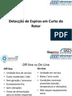 Detecção de Espiras em Curto do rotor