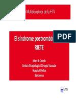 Síndrome Posttrombotico STP