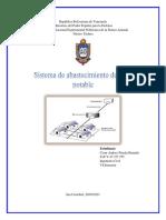 Sistema de agua potable Cesar Pineda
