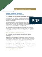 Nulidad y Anulabilidad Del Contrato