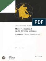 Vernant-J-P-Mito y Pensamiento en La Grecia Antigua