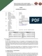 Silabo Contabilidad General I 2011-A
