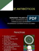 Tipos de antibióticos RED