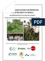 Organic Agriculture for IMPROVED Food Security in Africa