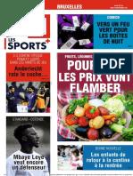 Journal La Derniere Heure-Bruxelles-20-08-2021